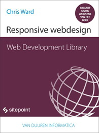 cover Web Development Library - Responsive webdesign