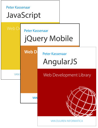 Uitgaven in de serie Web Development Library